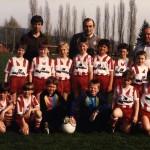 Mein erstes Mannschaftsfoto (1988)