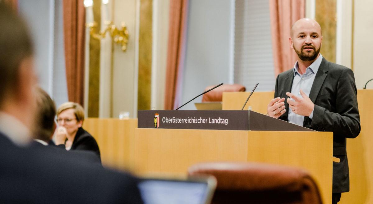 Severin Mayr, Landtag